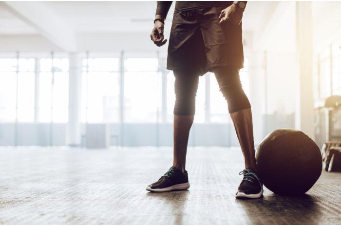 下半身とバスケットボール